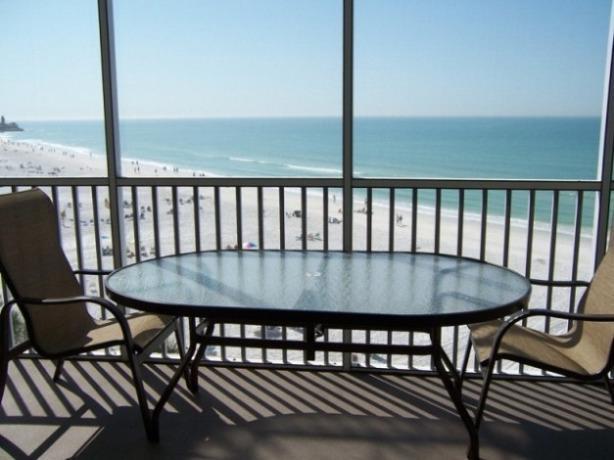Luxury condo on Crescent Beach in Siesta Key, Florida