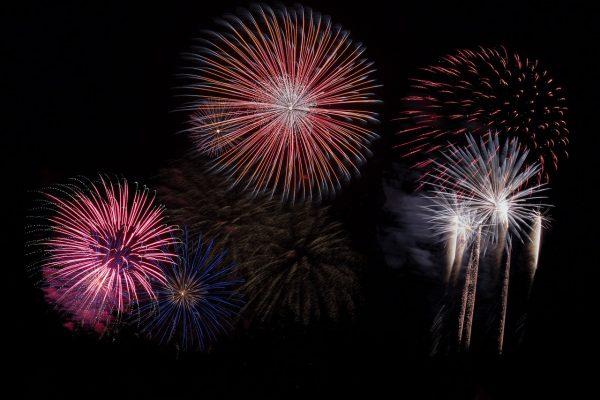 Fireworks in Sarasota Florida